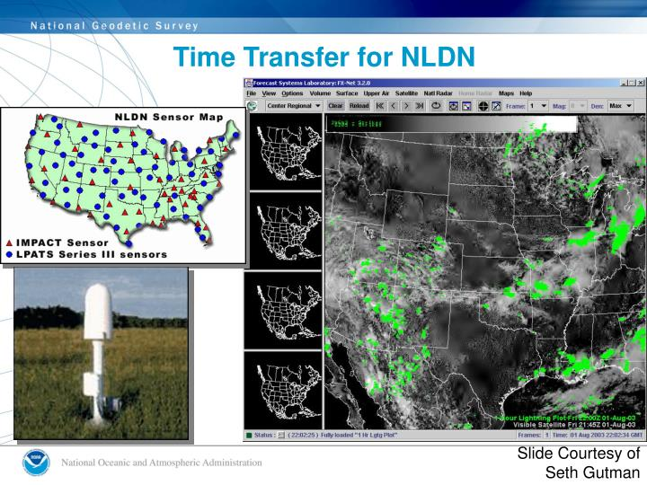 Time Transfer for NLDN