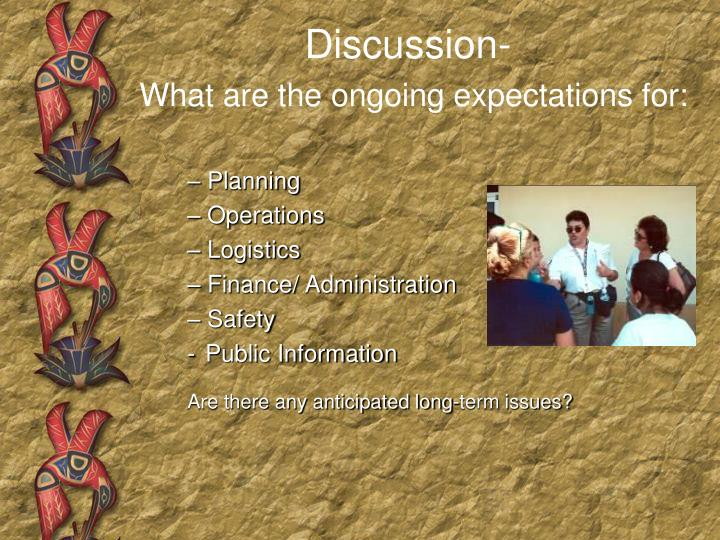 Discussion-