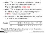 figure 12 4 the flag register courtesy of intel corporation