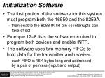 initialization software