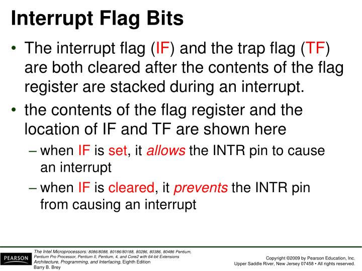 Interrupt Flag Bits