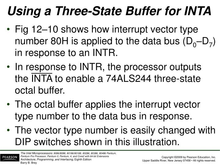 Using a Three-State Buffer for INTA