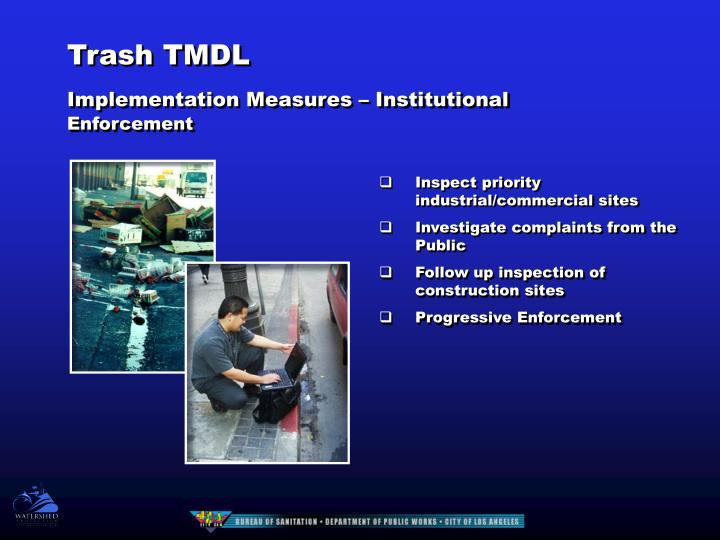 Trash TMDL