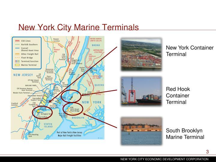 New York City Marine Terminals
