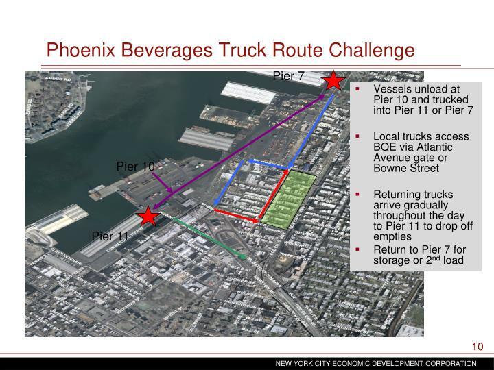 Phoenix Beverages Truck Route Challenge