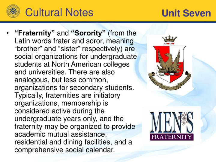 """""""Fraternity"""""""