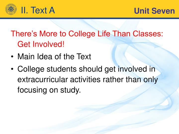 II. Text A
