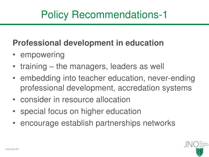Policy Recommendations-1