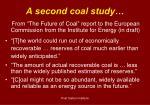 a second coal study