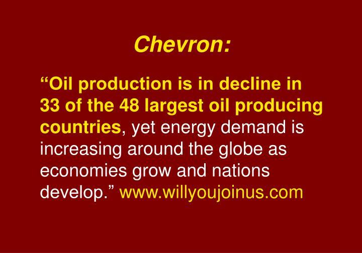 Chevron: