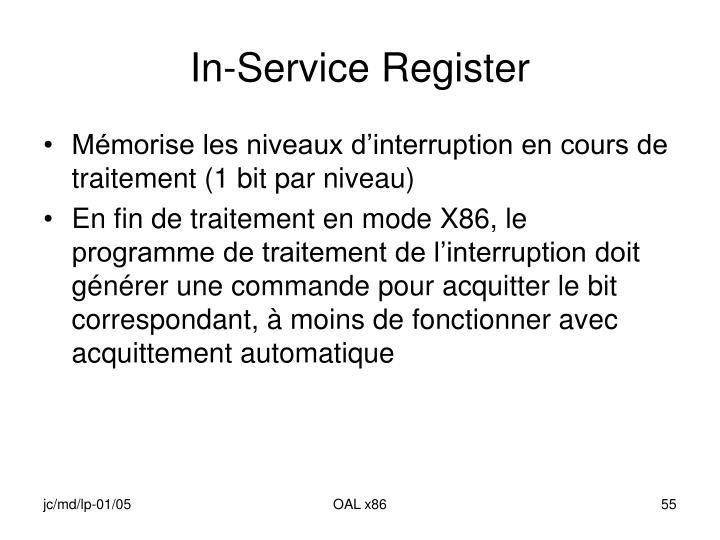 In-Service Register