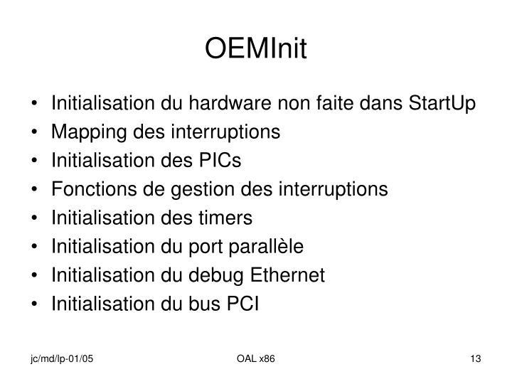 OEMInit