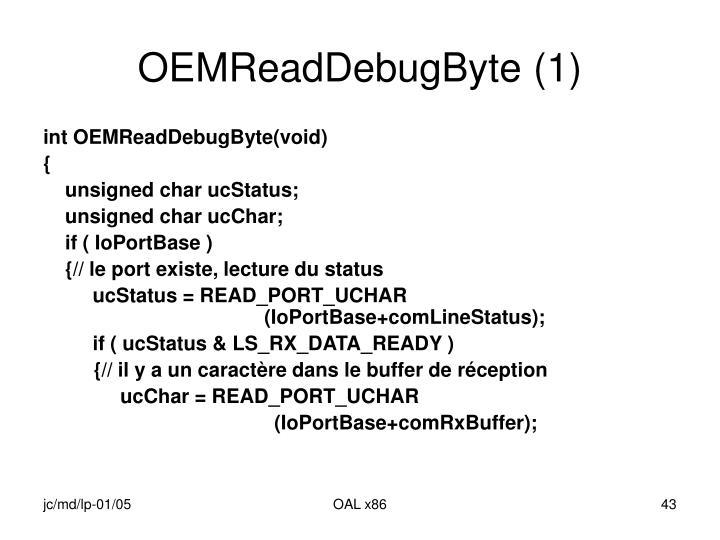 OEMReadDebugByte (1)