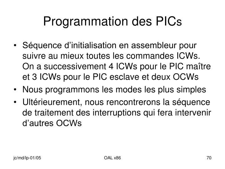 Programmation des PIC