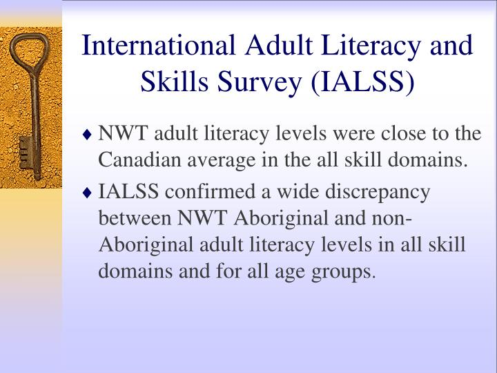 3 adult level literacy