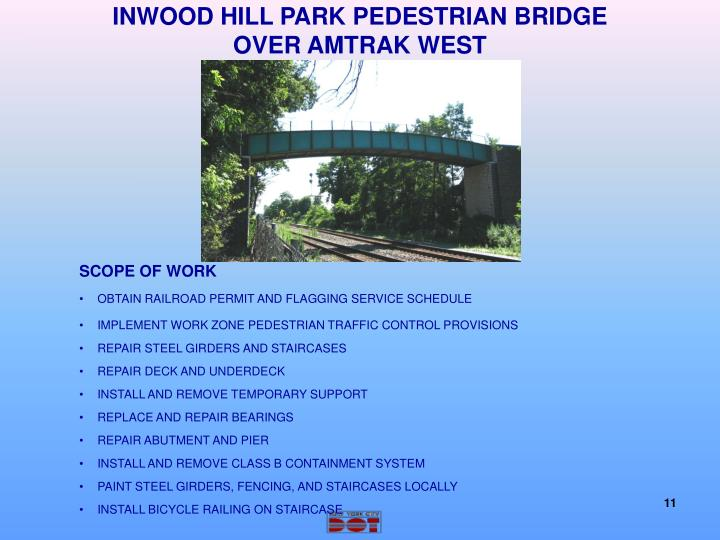 INWOOD HILL PARK PEDESTRIAN BRIDGE