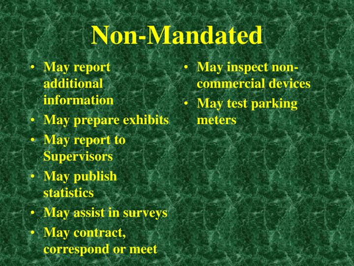 May report additional information