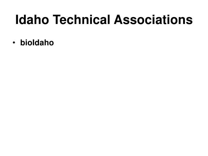 Idaho Technical Associations