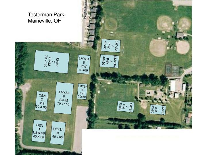 Testerman Park,