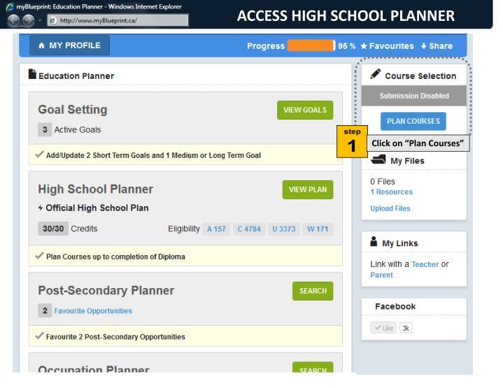 ACCESS HIGH SCHOOL PLANNER