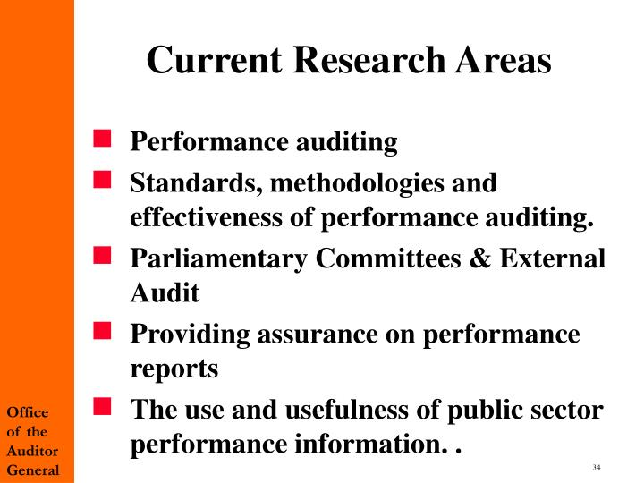 Current Research Areas