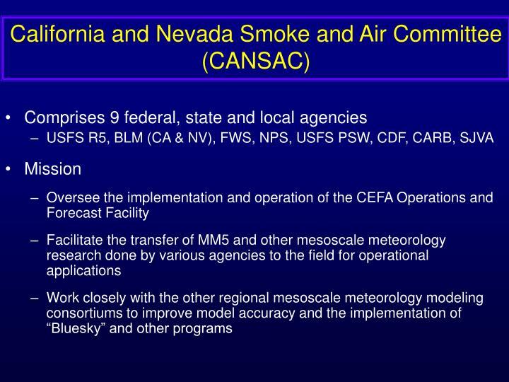 California and Nevada Smoke and Air Committee