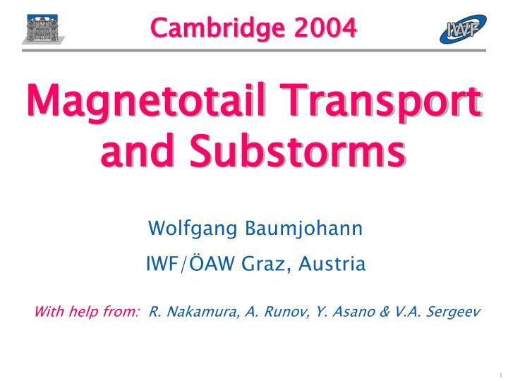 cambridge 2004