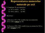 reprezentarea numerelor naturale pe ax4