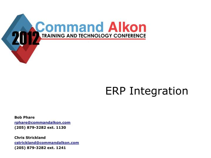 erp integration