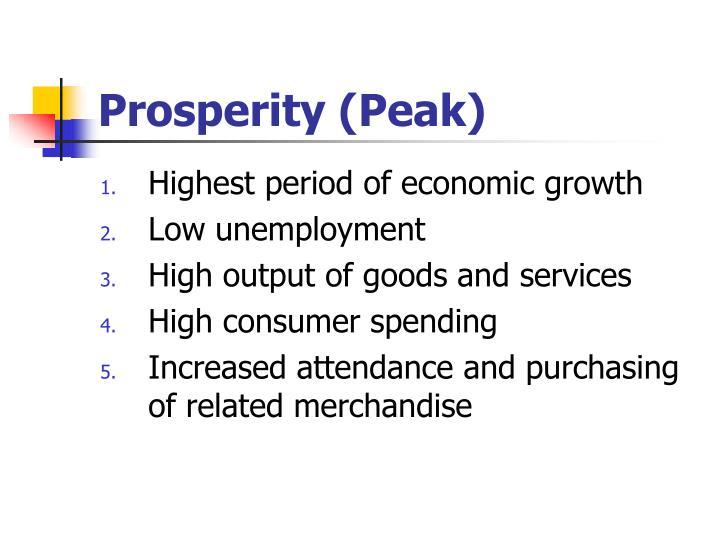 Prosperity (Peak)