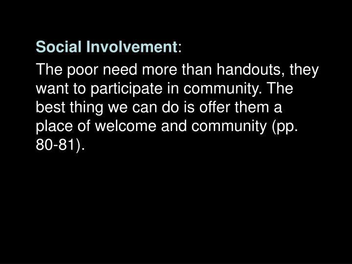Social Involvement