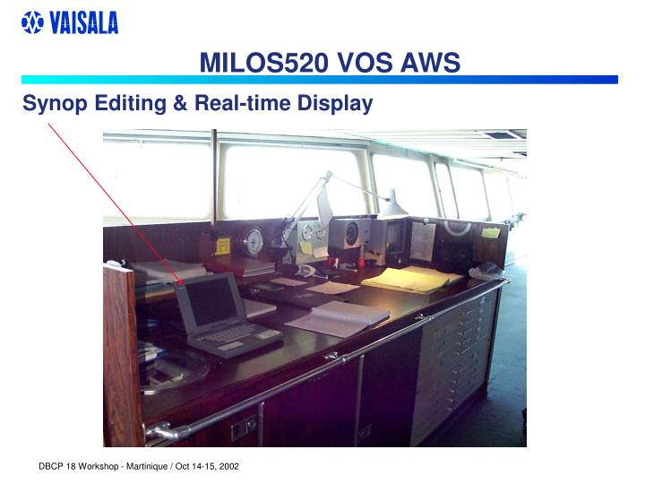 MILOS520 VOS AWS