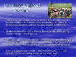 internally displaced persons
