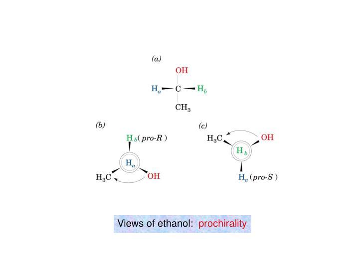 Views of ethanol: