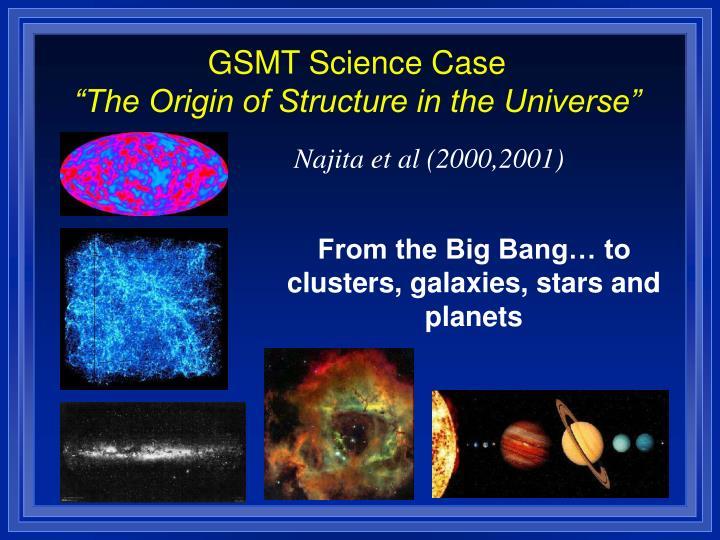 GSMT Science Case