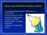 what is the aura new initiatives office