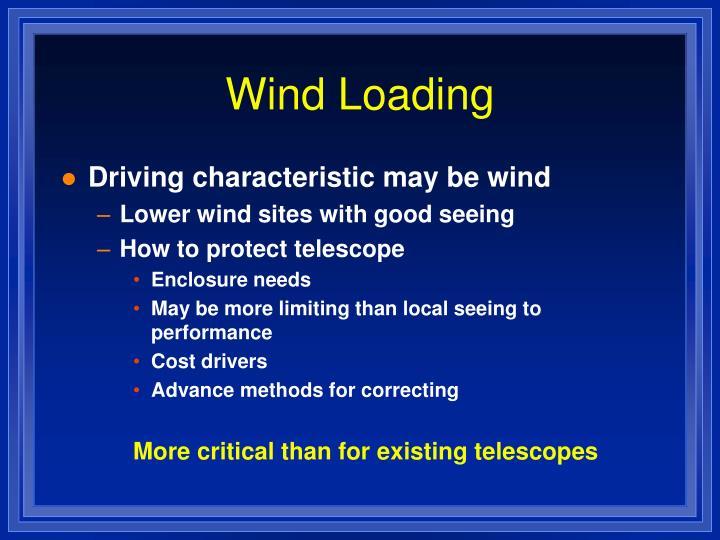 Wind Loading