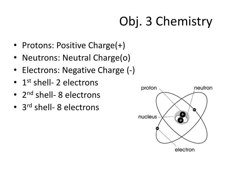 Obj. 3 Chemistry