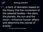 astrology definition