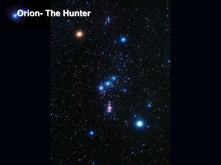 Orion- The Hunter