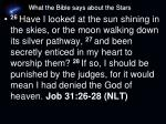 what the bible says about the stars1