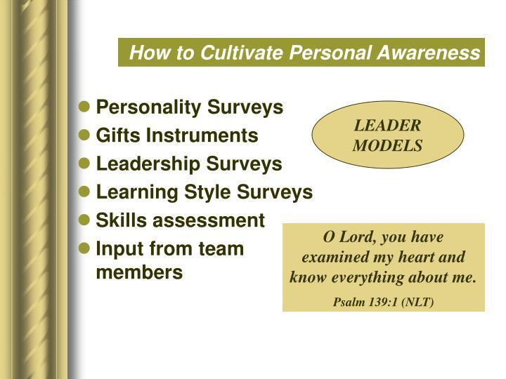 Personality Surveys