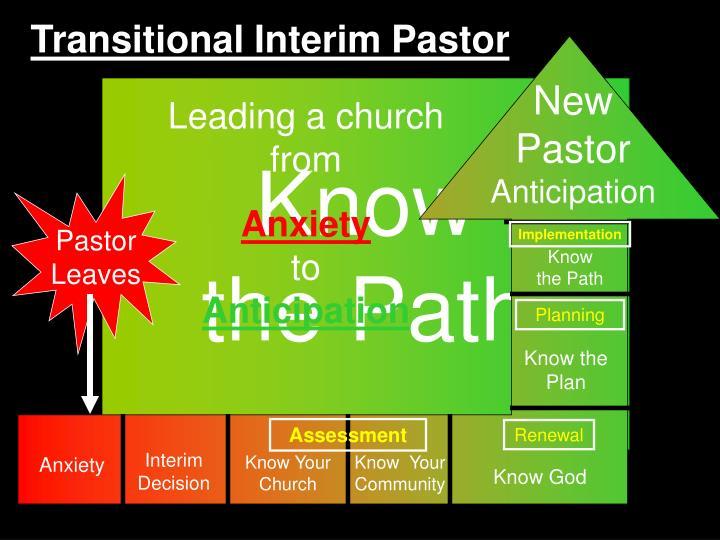 Transitional Interim Pastor