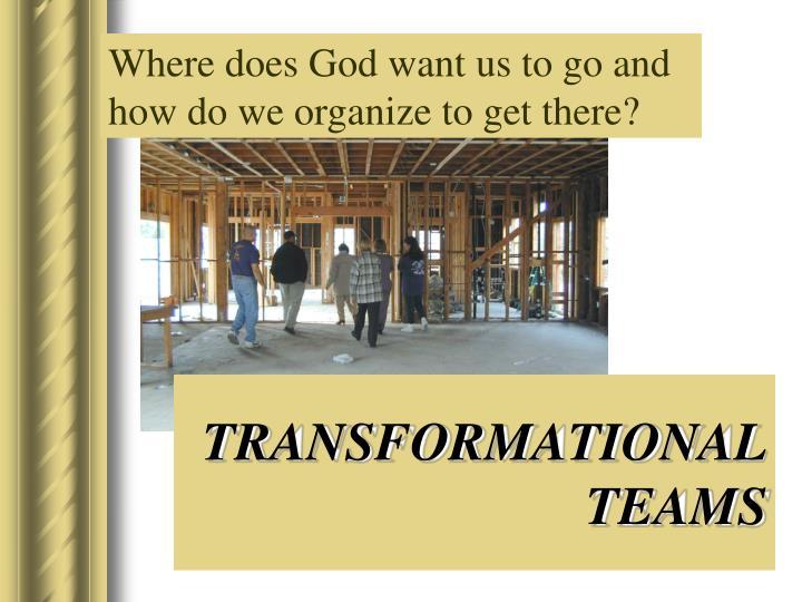 TRANSFORMATIONAL TEAMS