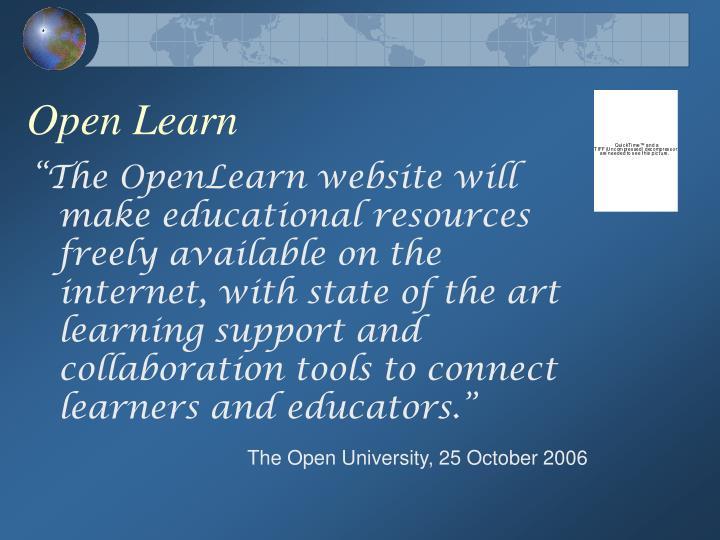 Open Learn