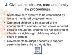 j civil administrative care and family law proceedings2