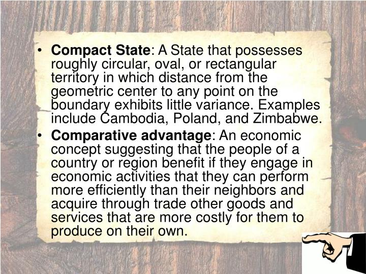 Compact State