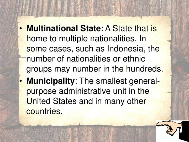 Multinational State