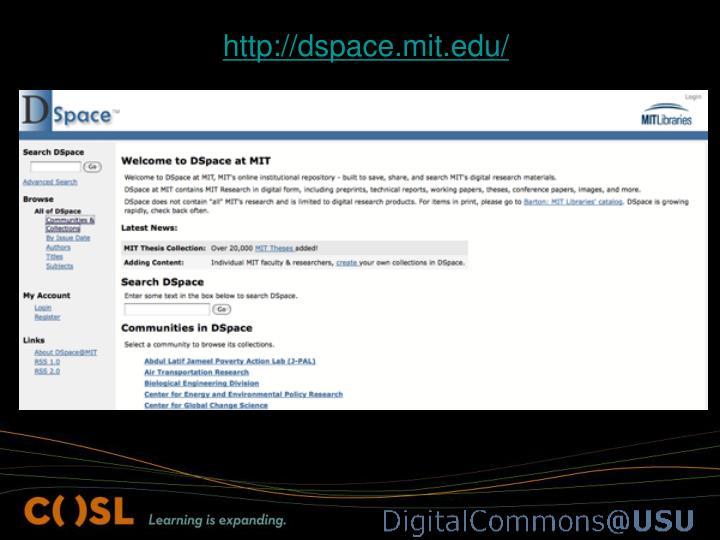 http://dspace.mit.edu/