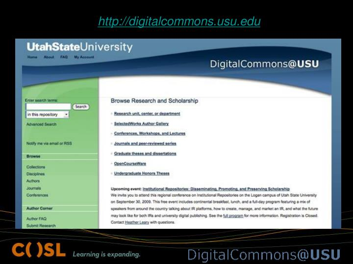 http://digitalcommons.usu.edu